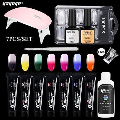 7 Colors Chameleon Poly Gel Kit P14-S3-7P(15ml)