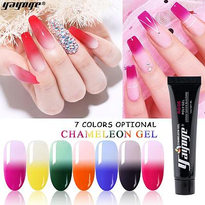 7 Colors Chameleon Thermal Color Change Poly Gel P14(15ml)