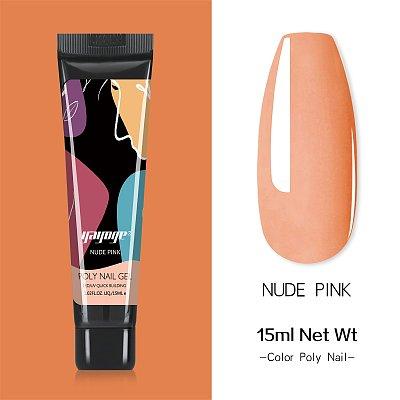 New Pack 11 PCs 4 Colors 15ML Nail Extension Polygel Set YTNP15047
