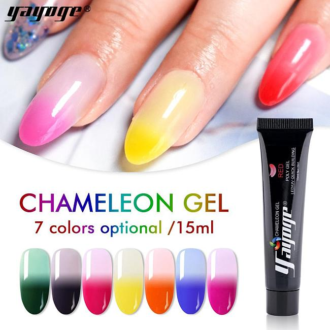 BE WAREHOUSE 7 Colors Chameleon Poly gel P14(15ml)