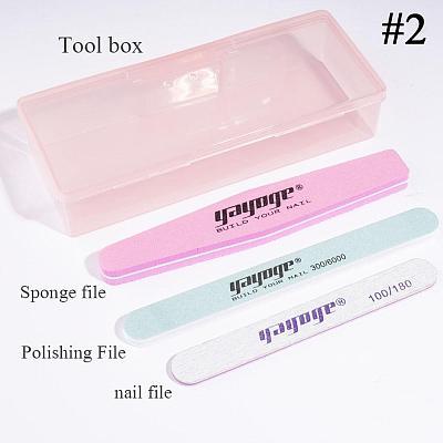 4 Pcs Nail File Kit