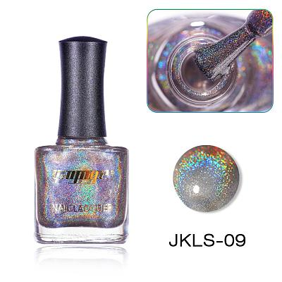 Highly Pigmented 16 Colors Holographic Nail Polish(12ml) JKLS