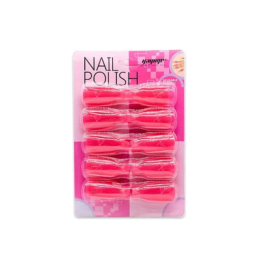 10Pcs/Set 5Colors Nail Art Remover Clip