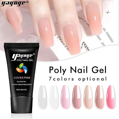 US WAREHOUSE 7 Basic Colors Poly Gel P26(30ml)