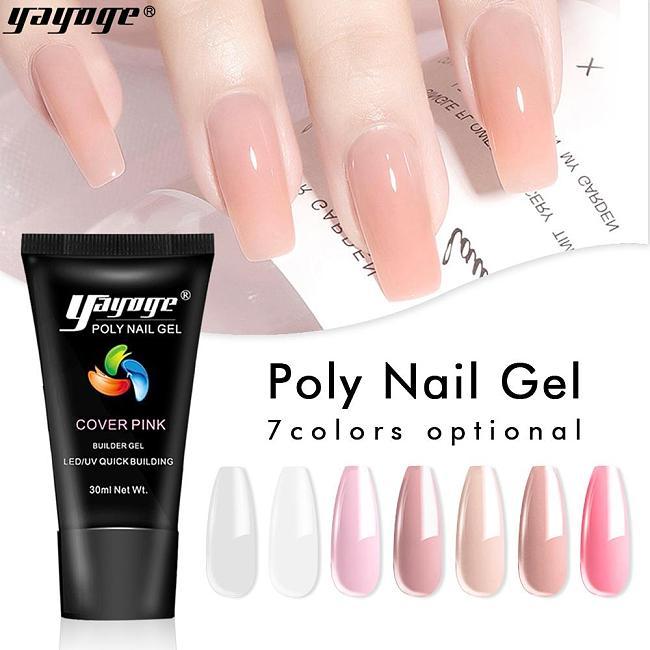 US WAREHOUSE 7 Basic Colors Poly Gel P26(30ml)