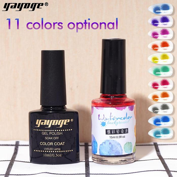 Blooming Flower Quick Building Gel Polish Essential Kit YCBH
