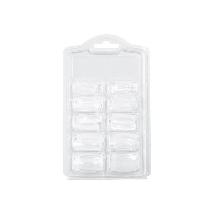 100Pcs/Set Transparent Full Nail Tips FN100-T1-A