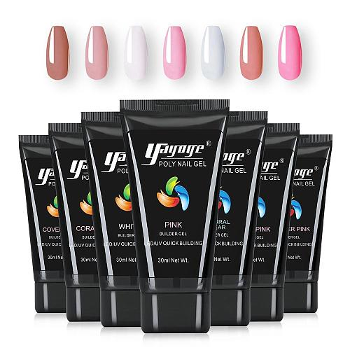 7 Colors Glitter PolyGel P26(30ml)