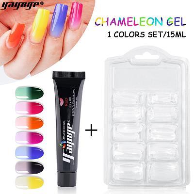 8 Colors Chameleon Polygel Kit P14-A5(15ml)