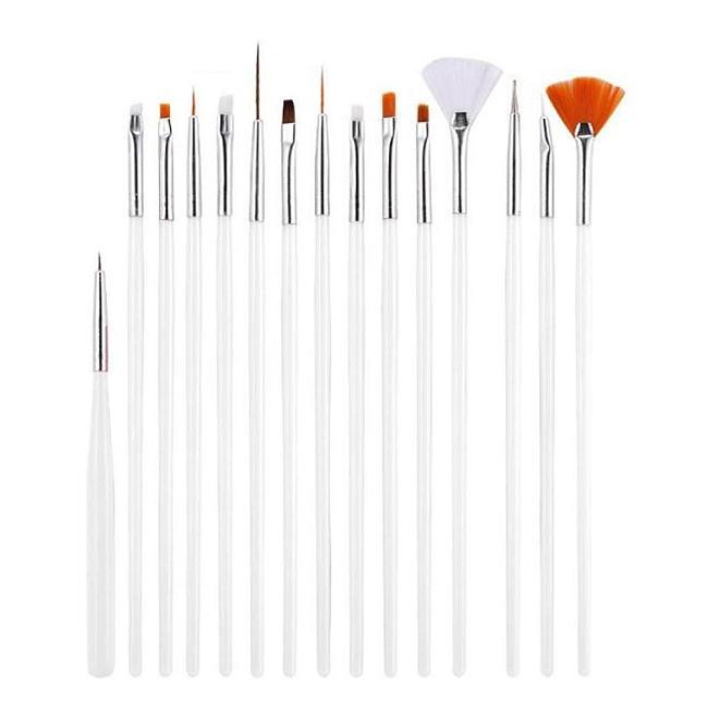 15Pcs/Set Nail Art Brush Pen Set NP05