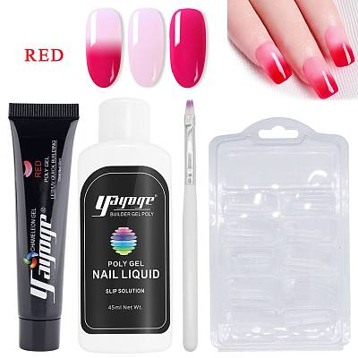 50% OFF 7 Chameloen Colors Poly Gel Set P14-A1 US WAREHOUSE