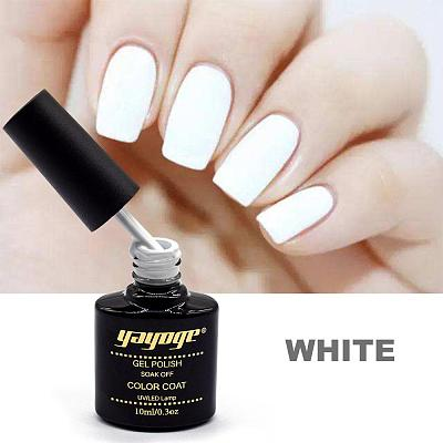 Black White UV LED Nail Gel Polish Long-Lasting Varnish Gel A217/ A218(10ml)