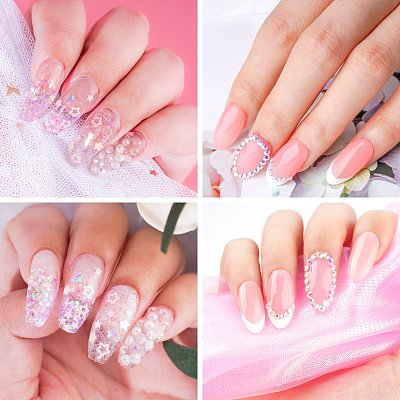 New Pack 12 PCs 4 Colors 15ML Nail Extension Polygel Set YTNP15046