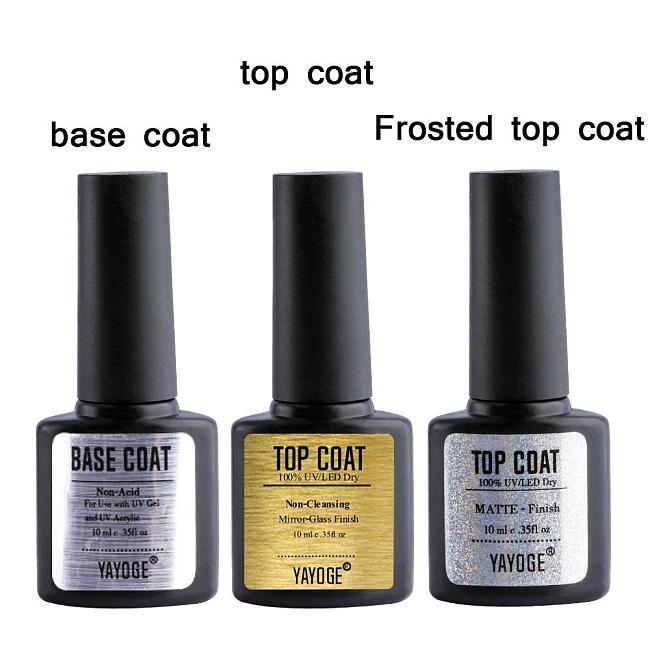 Top Base Coat Matte Top Bonder A001(10ml)