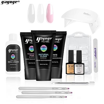 3 Basic Colors Poly Gel Set P16-S8(30ml)