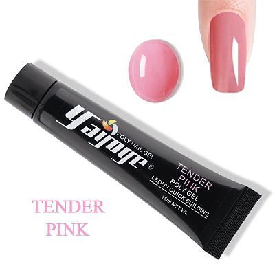 7 Colors Pinky Tender Love Poly Gel P15(15ml)