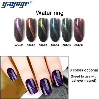 Magnetic Dark Water Cat Eye Gel Polish Soak Off Gel Polish A64(10ml)