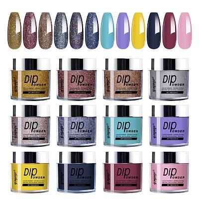 New Sweet Dates 12 Colors Nail Art Dip Powder Kit DP10-12