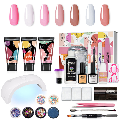 Baiser D'amour Nail Build Polygel Starter Kit