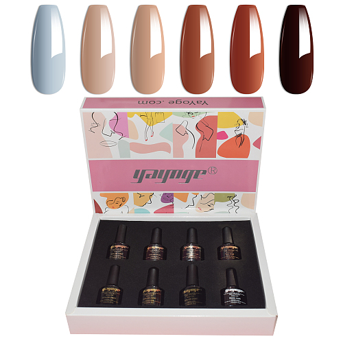 Mature Love 6 Colors Gel Nail Polish Set Colors