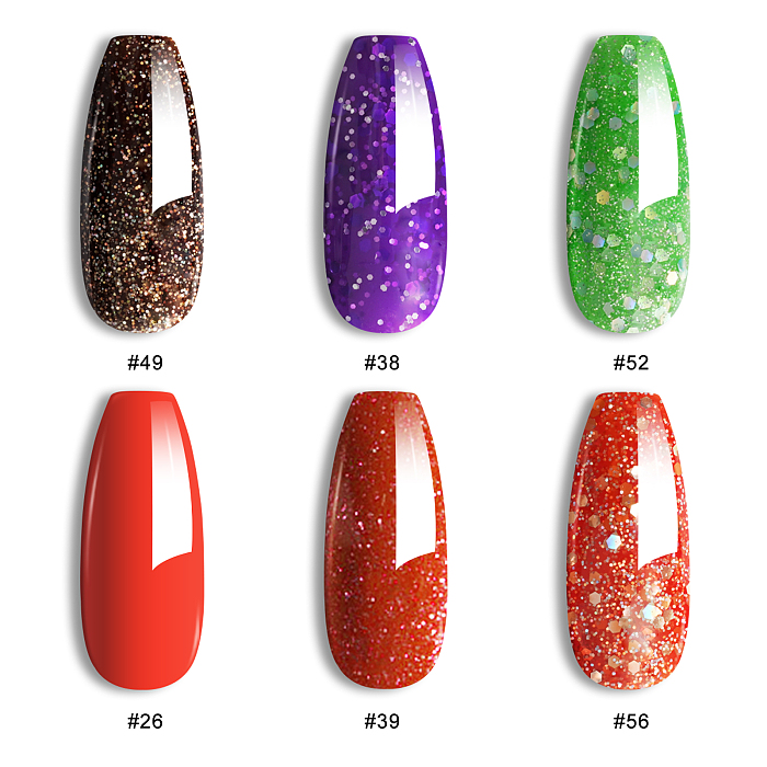 Infinite Shine 6 Colors UV Gel Nail Polish Kit