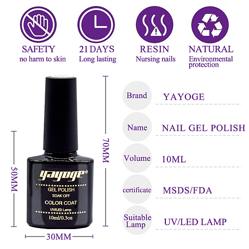 Kitty Kitty Cat eye gel nail polish kit with base and top coat