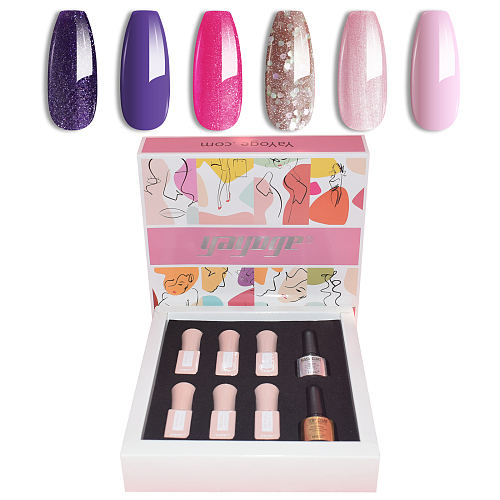 Summer Time Sadness 6ml 6 Colors Nail Gel Polish Kit