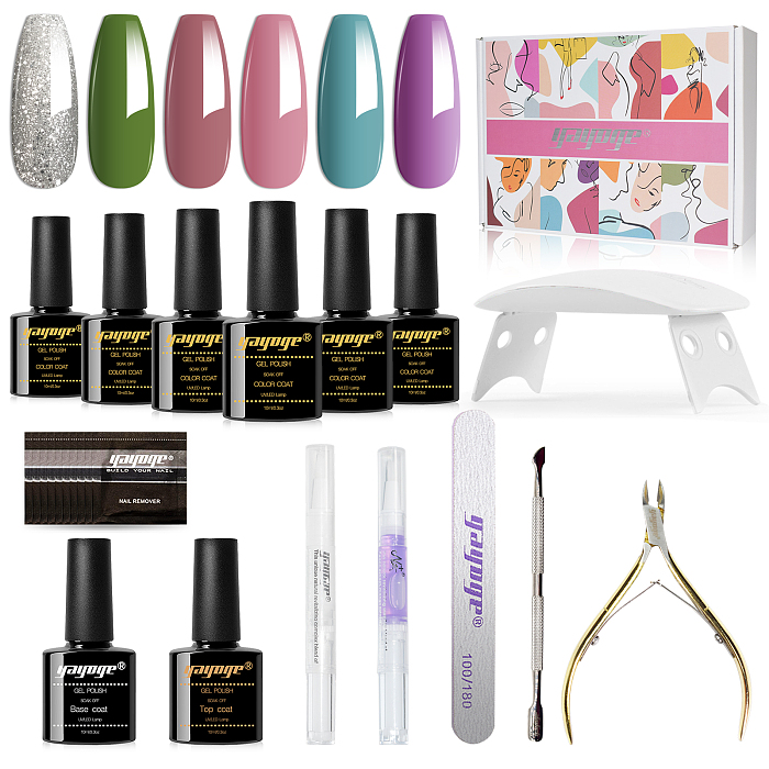 Classy Souvenir 15ml 6 Colors Nail UV Gel polish kit