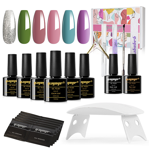 Classy Souvenir 15ml 6 Colors Nail UV Gel polish kit