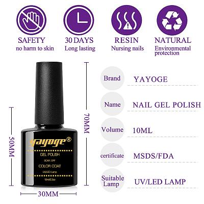La Vie Colorée 15ml 10 Colors Nail UV Gel polish kit