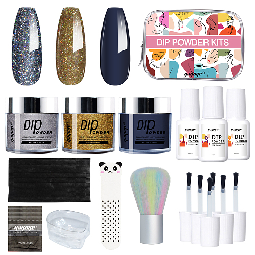Space Fantasy 3 Pieces Nail Dip Powder Kit