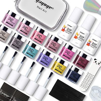 color nail dip powder kit