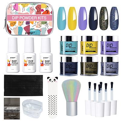 Nail Art Manicure Care Tools dipping powder nail kit
