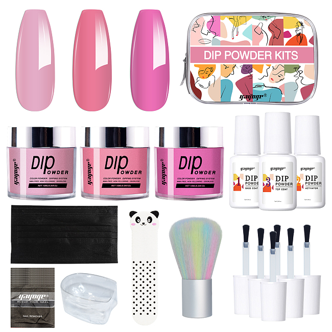 Rosy Silhouette Dip Powder Colors Starter Kit