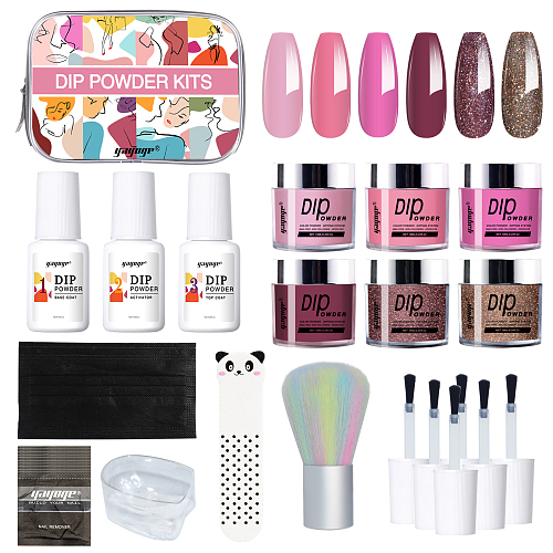 Eyes on my Nails 3 Color Nail Dip Powder Kit