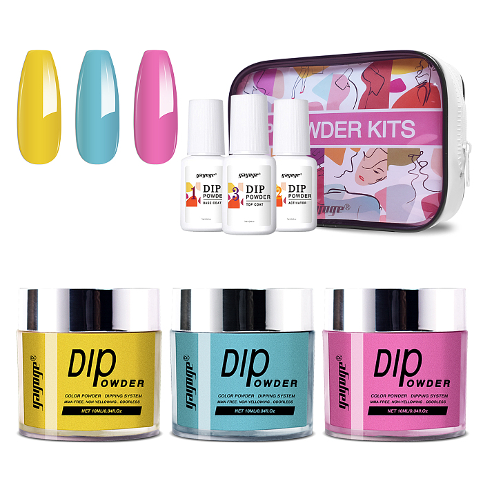 Manicure nails powder set dipping
