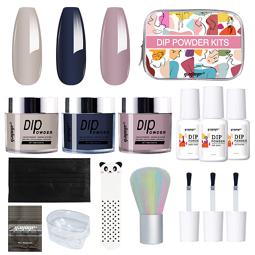 Elegance 3 Pieces Dip Powder Nails Kit