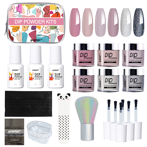 OOTD 3 Colors Dip Nail Powder Starter Kit