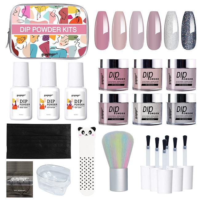OOTD 3 Colors Dip Nail Powder Starter Kit