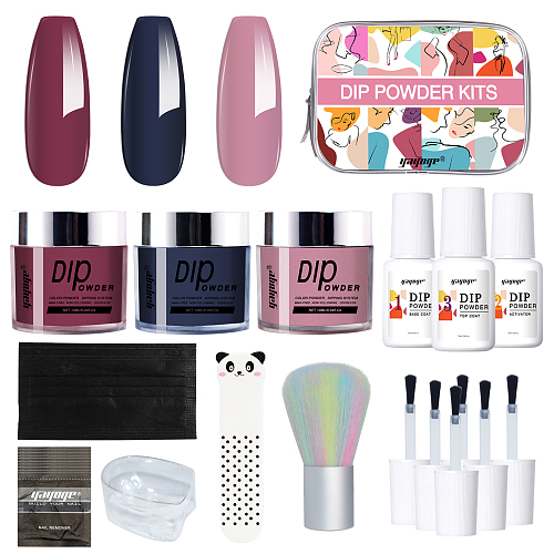 Vous 3 Colors Dip Powder Nail Set