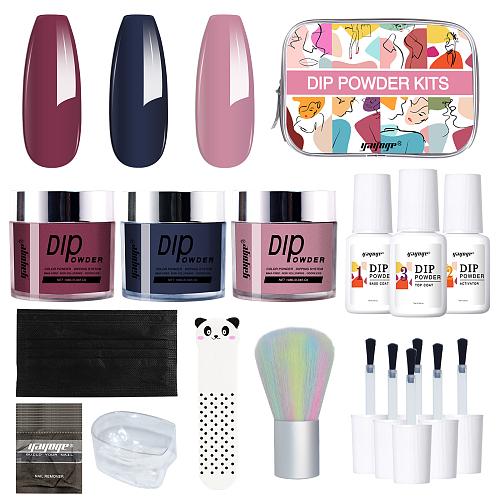 Vous 3 Colors Dip Powder Nail Set