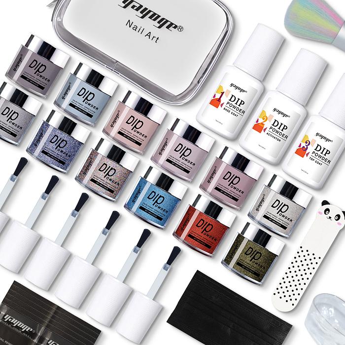 nail dip powder set colors