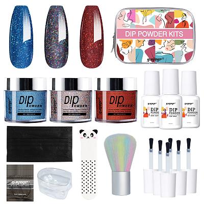 nails DIY nail dip powder kit for sale