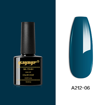 Cyan Series Colorful Nail Gel Polish A212