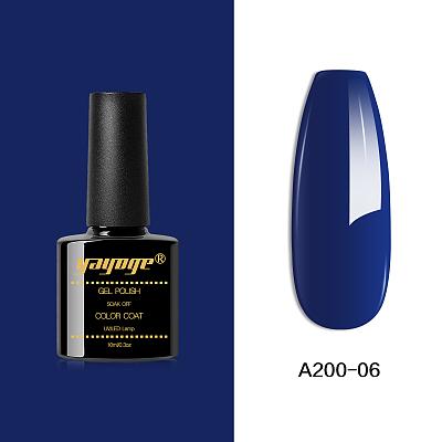 6 Colors Ocean Blue Nail Gel Polish UV LED Soak Off Gel A200