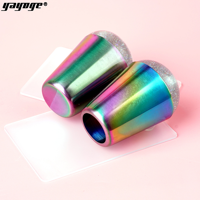 YAYOGE Silicone Nail Stamper French Nail
