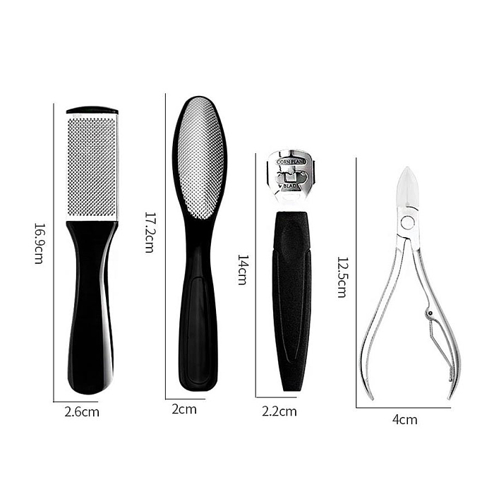 Fungus Clear Stainless Steel Pedicure Kit Nail Care Tools