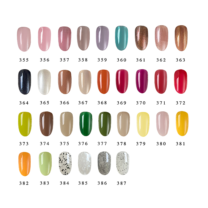 New In YAYOGE Solid Cream Gel Polish 33 Translucent Colors