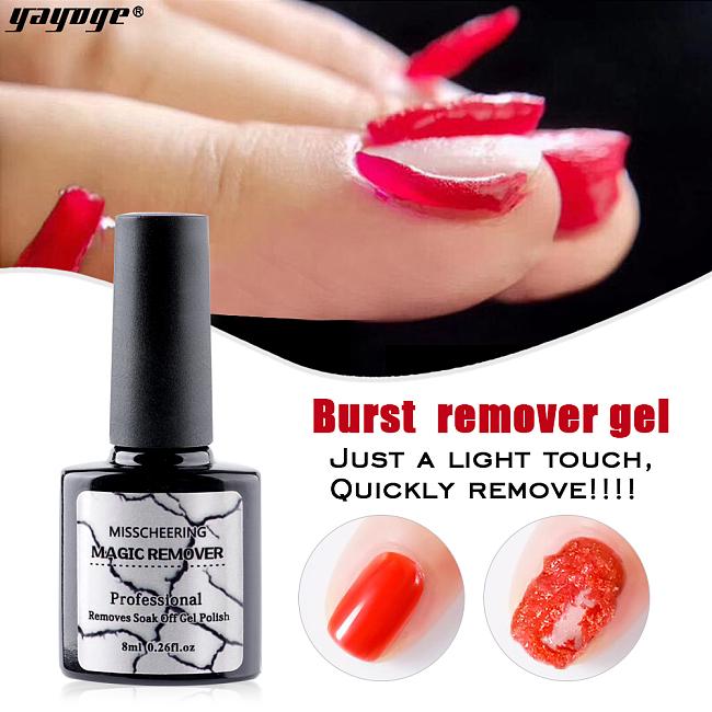 Magic Soak-Off Gel Polish Remover Acrylic Clean Degreaser