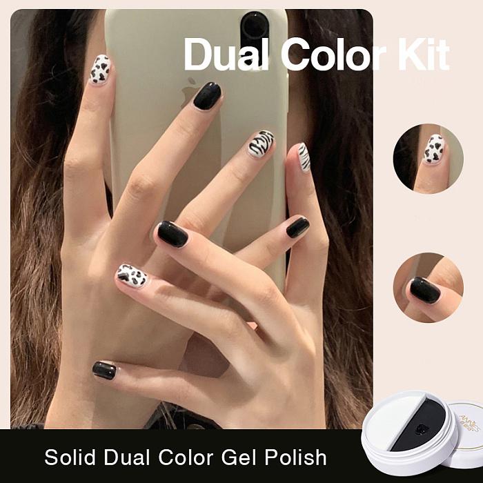 YAYOGE Solid Dual Color Gel Polish